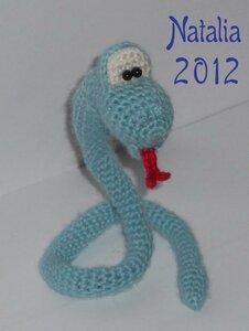 Serpente ad uncinetto / Вязаная змейка