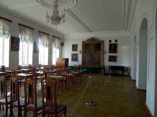 Экзаменационный зал.
