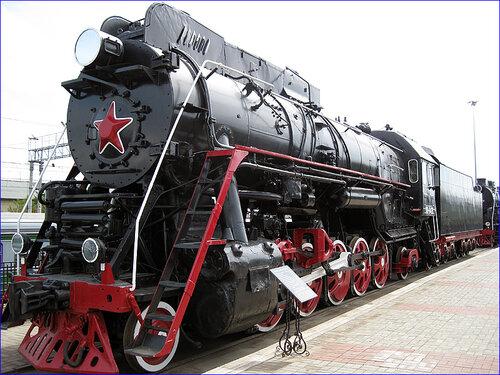 Экспонат Музея железной дороги (03.04.2013)