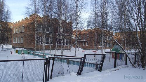 Фото города Инта №2974  Юго-западный угол Воркутинской 4 д/с