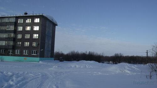 Фотография Инты №3700  Юго-восточный угол Северной 1 19.02.2013_12:34
