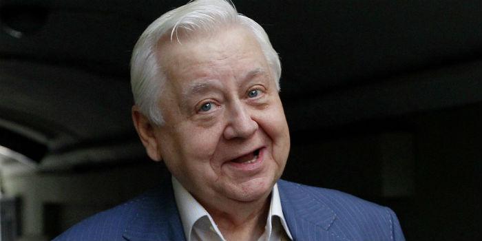 Табаков отмечает 80-летний юбилей