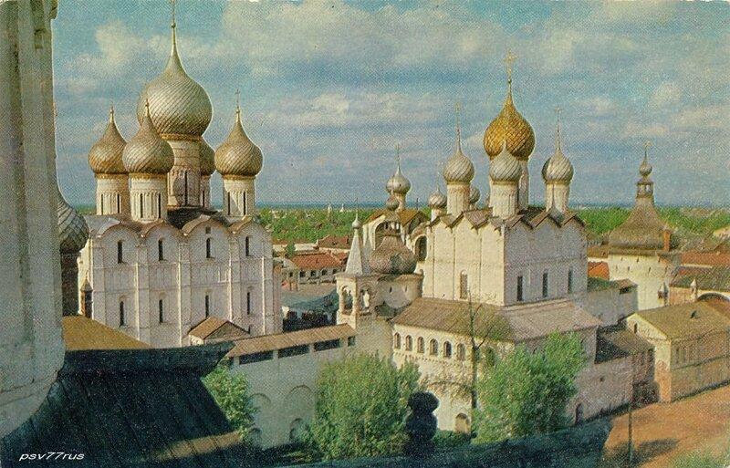 Ростов Великий.  Соборы Кремля. XVII век.
