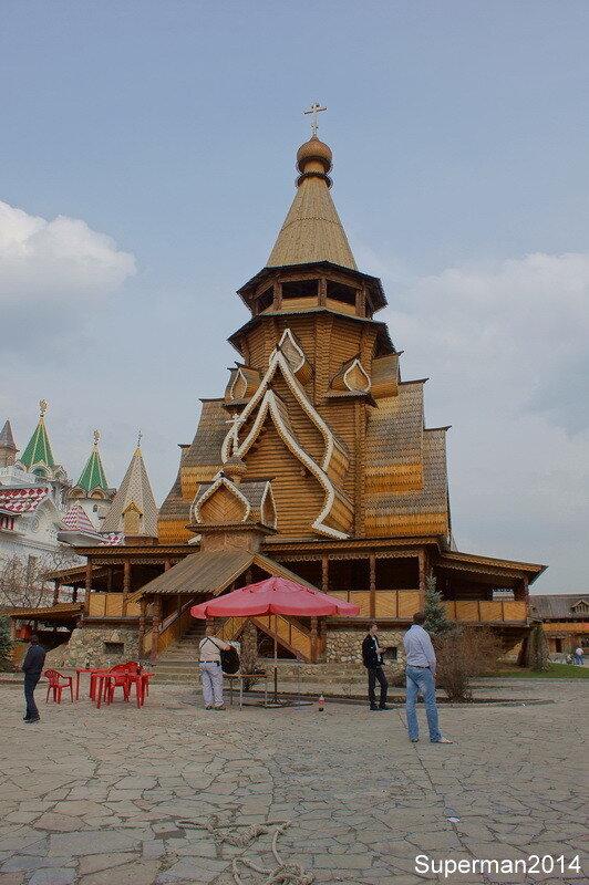 Храм Святителя Николая в Измайловском кремле
