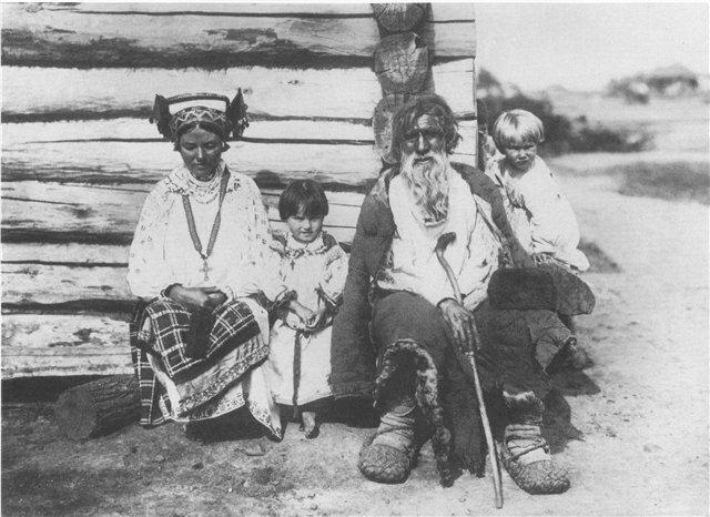 Семья. 1904г. Орловская губ.