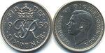 Англия,Великобритания, 6 пенсов, 1950 год