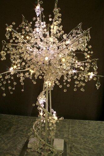 Деревья из кристаллов