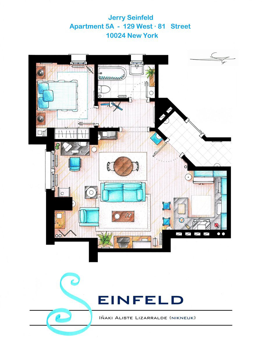 Квартира Джерри Сайнфелда из телесериала «Сайнфелд»