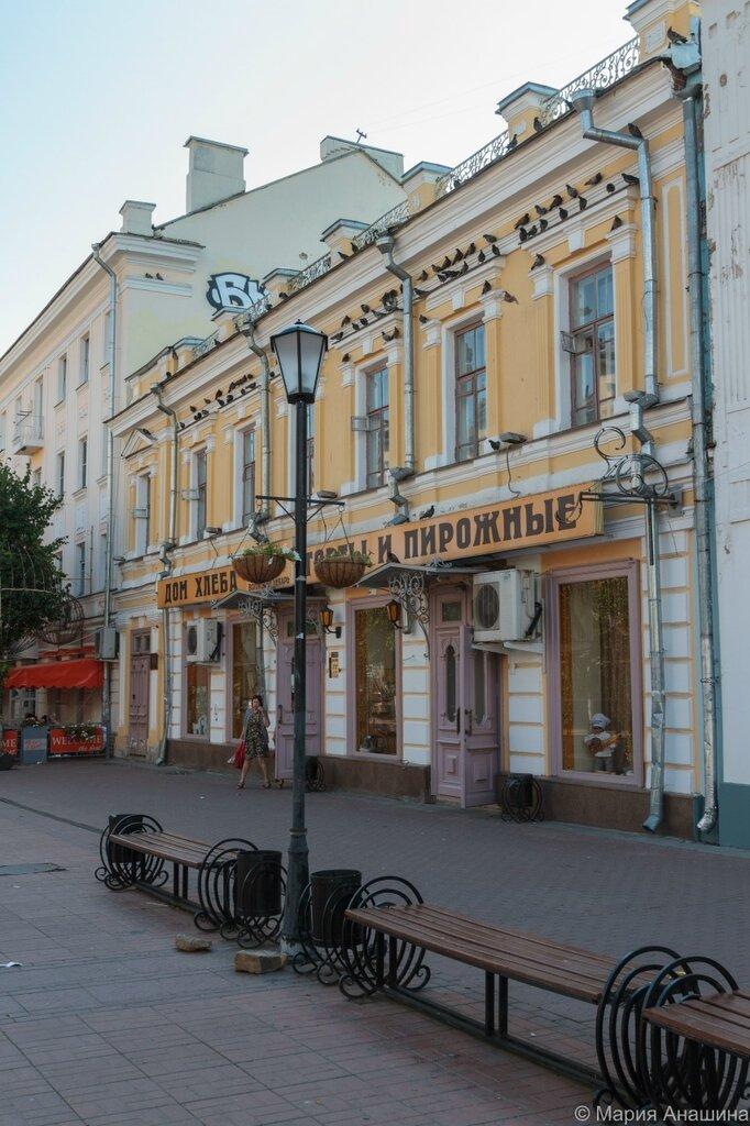 """""""Волжский пекарь"""", Трехсвятская улица, Тверь"""