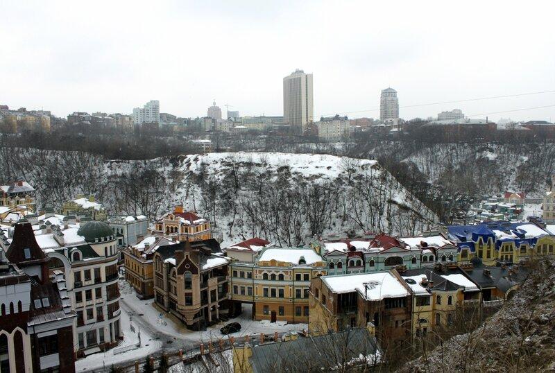 Вид с Хоривицы на Львовскую площадь