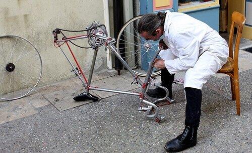 Как ремонтировать велосипед?
