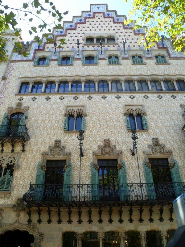 Дом Амалье (Casa Amatller)