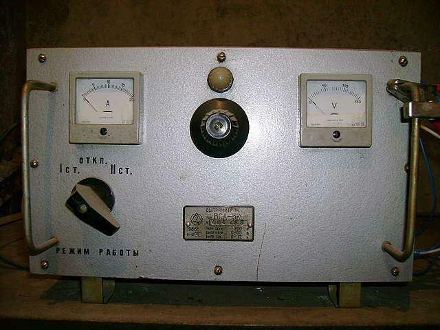 Зарядное устройство из латра