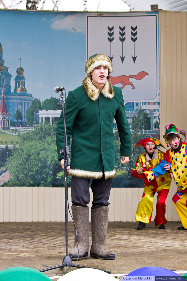 Театрализованное представление | Масленица в Саранске 17.03.2013