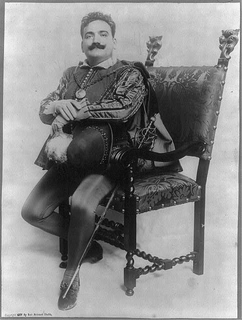 Enrico Caruso, 1873-1921.