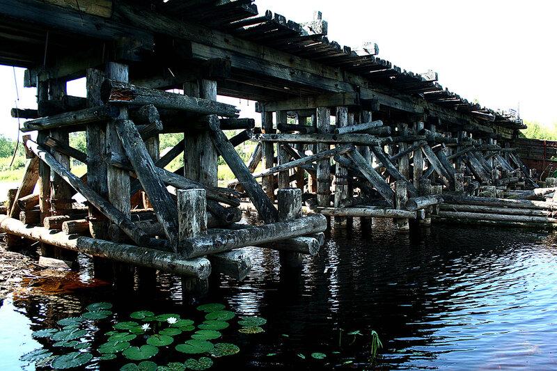 река Чепца мост