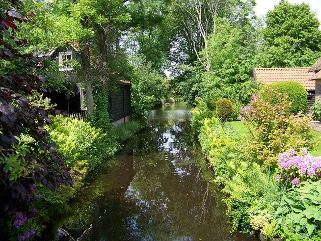 Деревня Гитхорн. Нидерланды