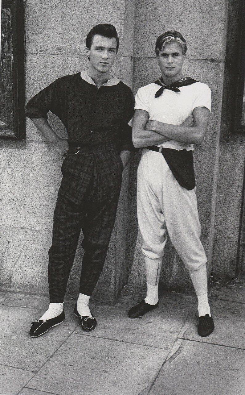 1980. Мартин и Стив на Кинг роудс
