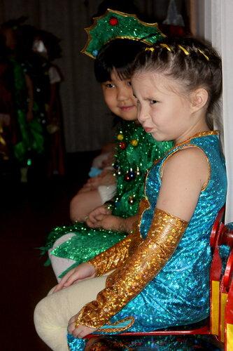 Новый год, платье для девочки