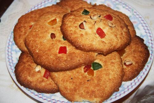 готовим овсяное печенье