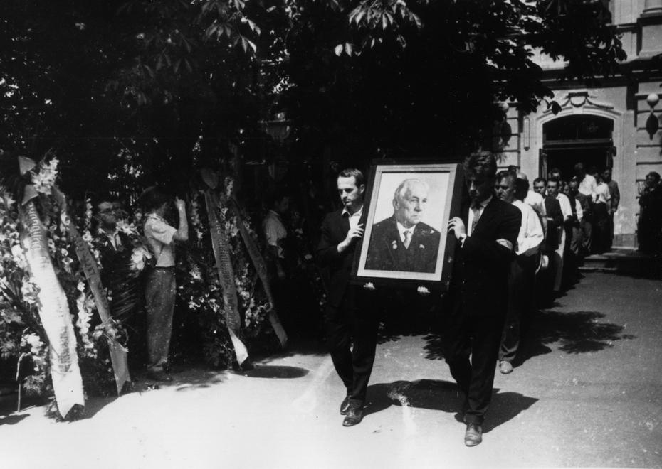 1964.07.27. Похороны поэта М.Ф.Рыльского