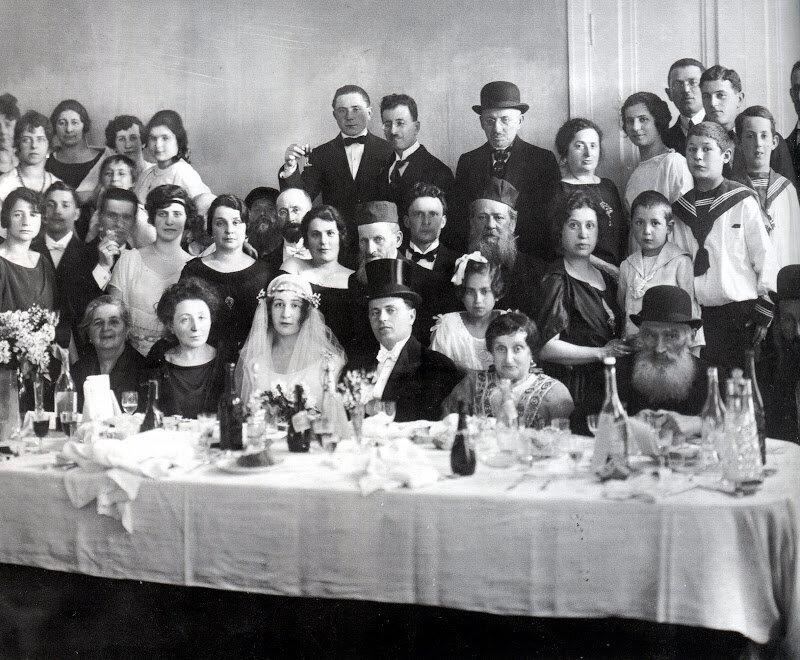 Jewish wedding, St. Petersburg, 1900's.
