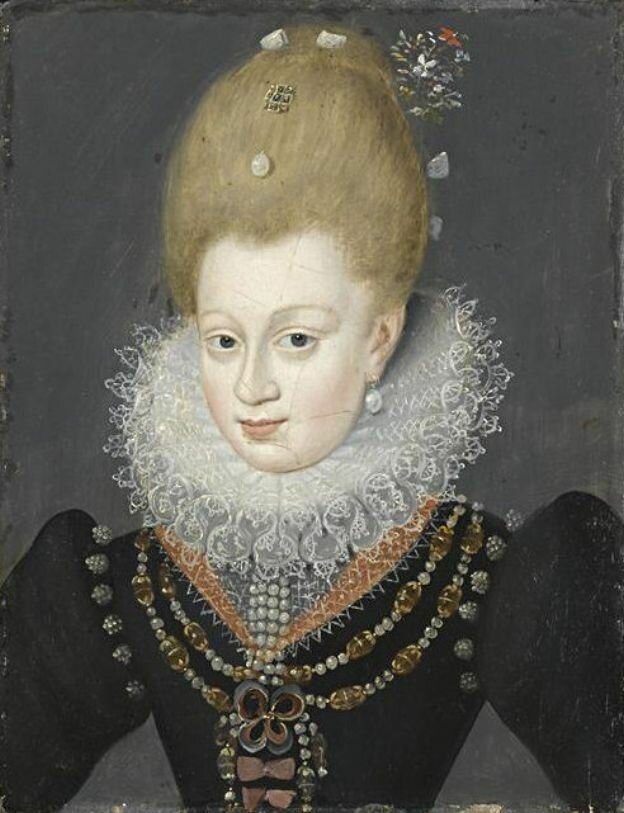 Габриэль д'Эстре. Герцогиня Бофор. Gabrielle d'Estrées, Duchess of Beaufort
