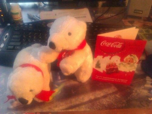 Мишки Coca-Cola
