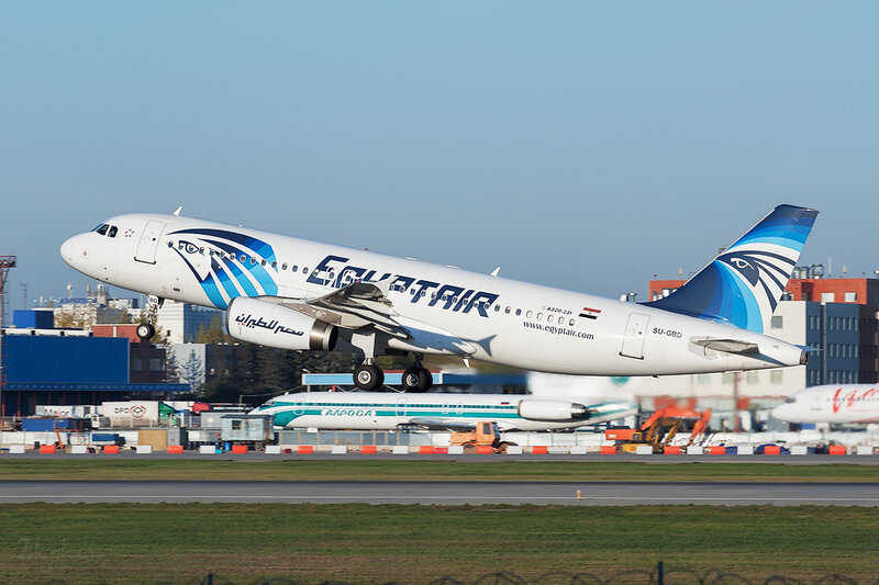 Airbus A320-231 (SU-GBD) EgyptAir DSC7181