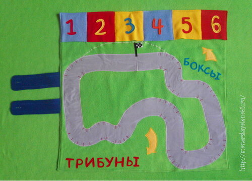 Развивающий коврик для мальчиков. Развивающие игрушки своими руками