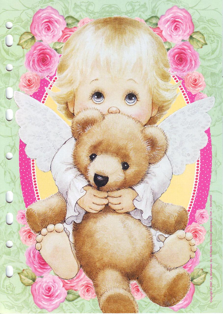 Красиво открытки с днем рождения для маленькой девочки