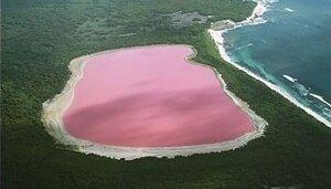 Удивительные озёра с необычным оттенком воды