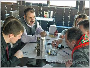 Встреча бельцких знатоков «КИСС» в кафе «Mr.Brown»