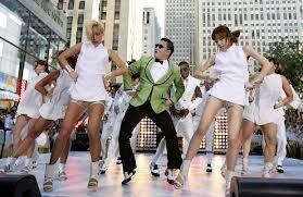 Анимационный клип Gangnam Style стал хитом в Интернете