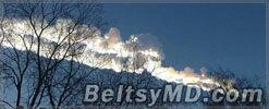 На Челябинск упал крупный метеорит — есть пострадавшие