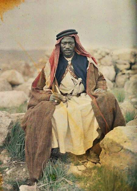 Первые цветные снимки Ближнего Востока (1917-1927)