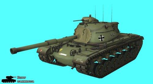 шкурка для танка M48A1 Patton