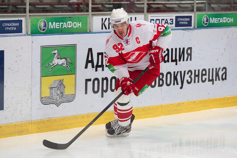 «Металлург» Нк vs «Спартак» 2:0 чемпионат КХЛ 2012-2013 (Фото)