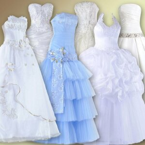 Клипарт для фотомонтажа – Свадебные платья 0_ca0aa_f80f7884_M
