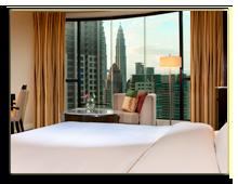 Малайзия. The Westin Kuala Lumpur. Premium Twin Tower Room