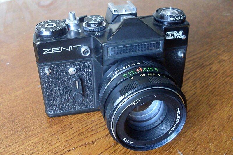 Сделано в СССР. Фотоаппарат «Зенит-ЕМ».