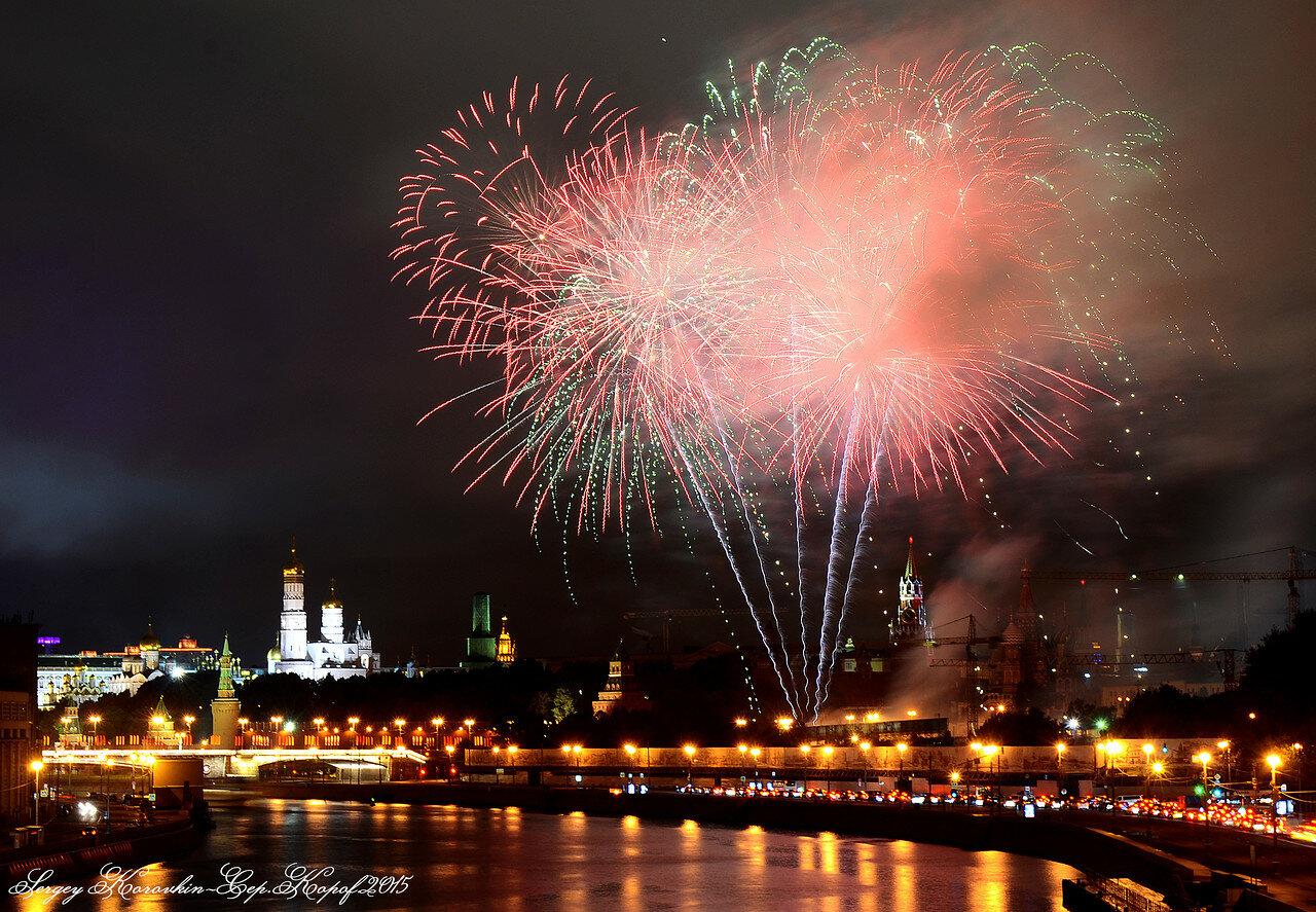 Салют фестиваля Спасская Башня 2015 №7