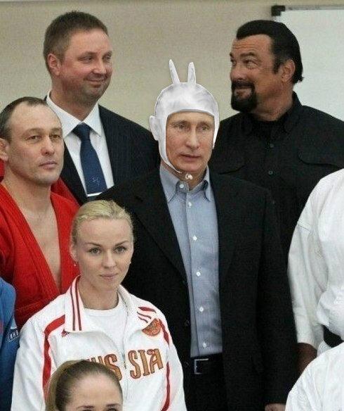 Путин встретился с Стивеном Сигалом