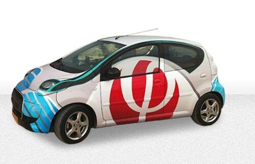 Совершенный электромобиль с двумя разными аккумуляторами