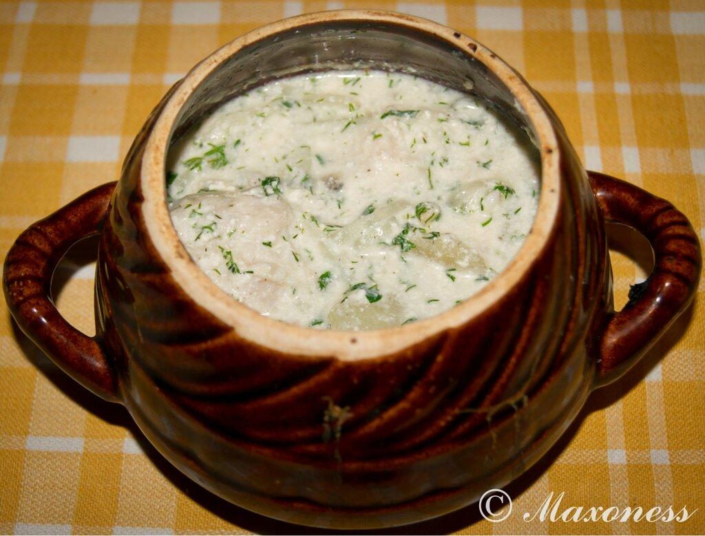 Уха из судака. Татарская кухня
