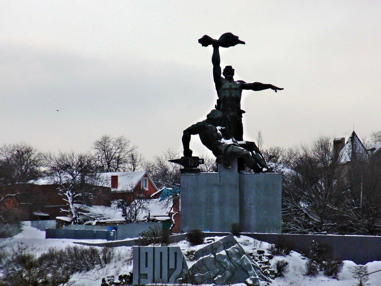 Памятник стачке 1902 г. - Ростов-на-Дону
