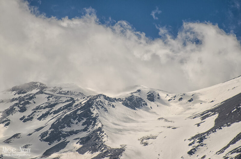 снег в горах, Гималаи, Непал