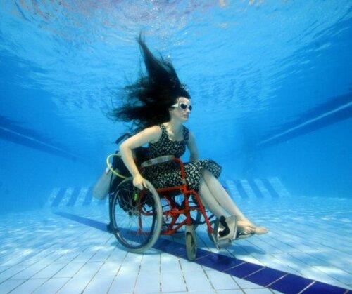 Дайвинг на инвалидной коляске