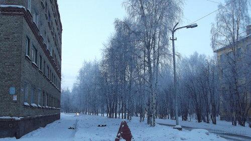 Фото города Инта №2437  Мира 7 и 4 06.01.2013_13:07