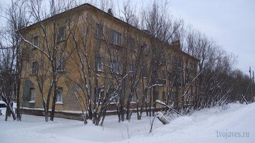Фото города Инта №2837  Юго-западный угол Коммунистической 20 31.01.2013_13:34
